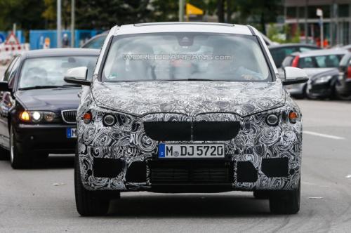 2013 BMW FAST spy shots