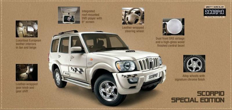 2013 Mahindra Scorpio Special Edition