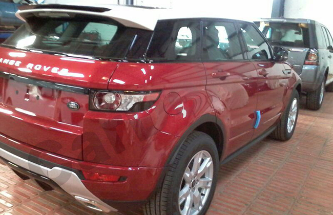 2014 Range Rover Sport spotted Back View