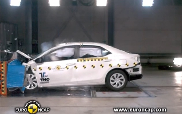 2014 Toyota Corolla Euro NCAP Crash Test