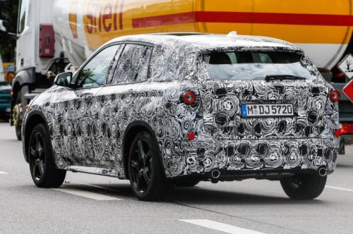 BMW FAST Spy Shots Back View