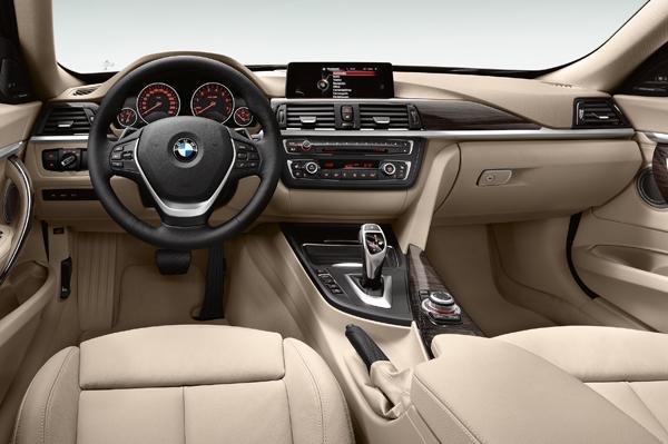 BMW GT 3 Series Interiors