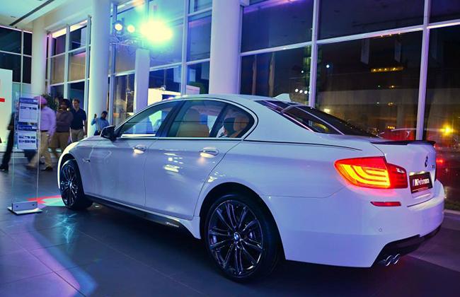 BMW M Performance Back View