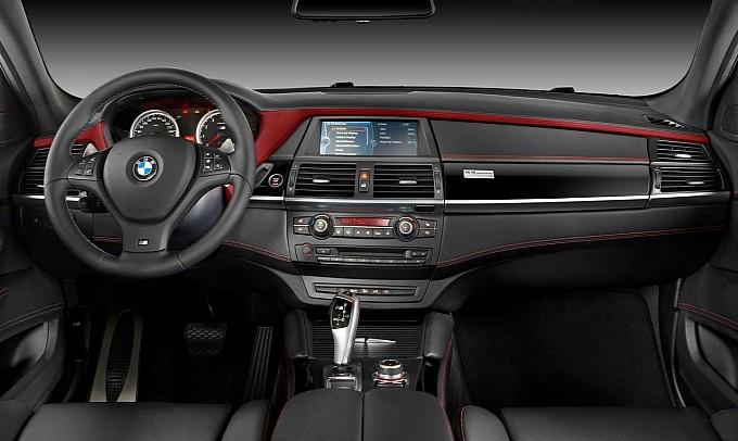 BMW X6 M Design Edition Interiors