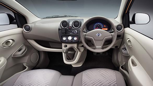 Datsun GO+ MPV Interiors