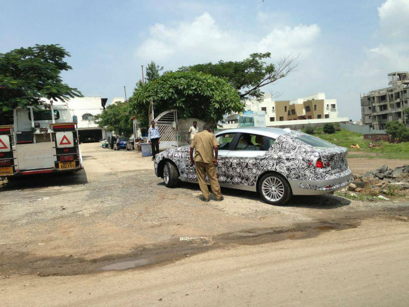 First spy shots of BMW 3 Series GT in India