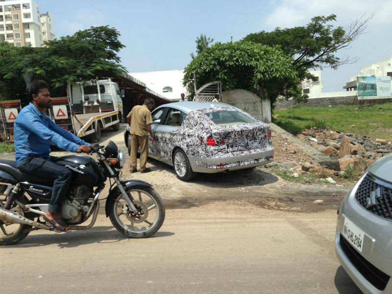 First spy shots of BMW 3 Series GT