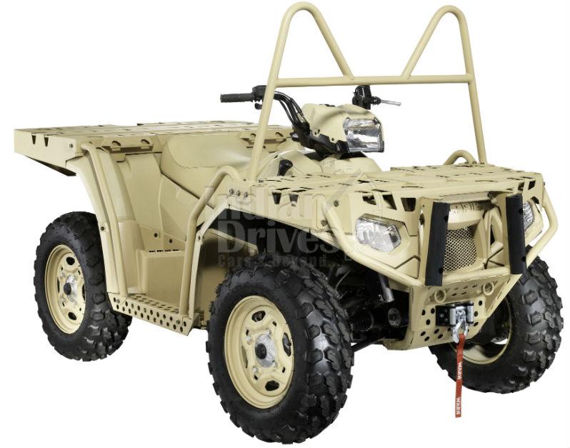 German military will now use Polaris ATVs