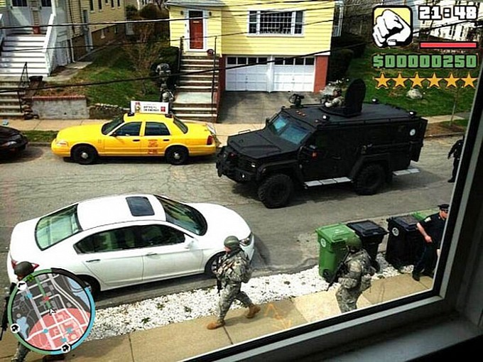 Grand Theft Auto V Happens in Real Life