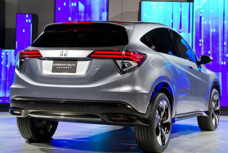 Honda Urban SUV Concept Back View