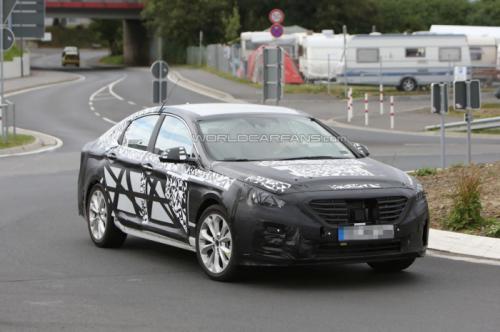 Hyundai Sonata spied