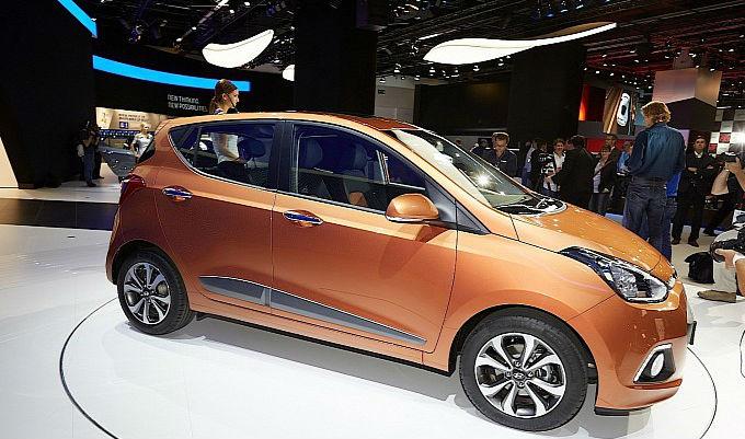 Hyundai i10 at 2013 Frankfurt Motor Show