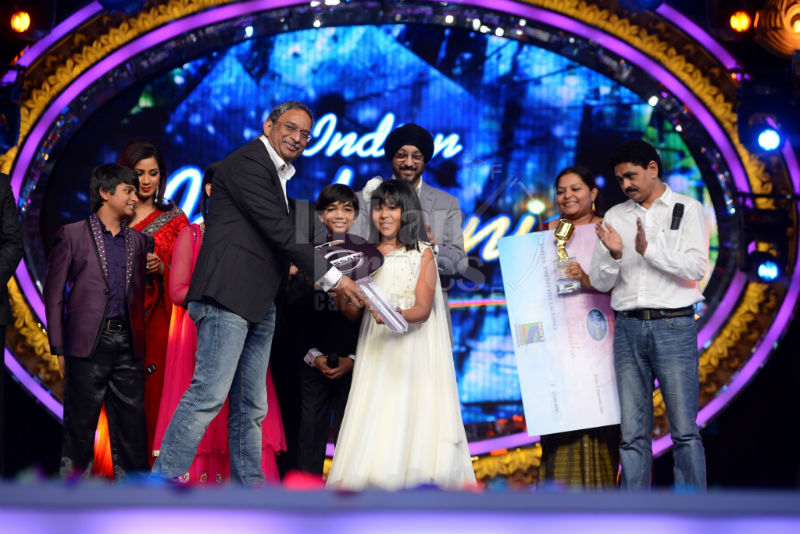 Indian Idol Junior Winner with Nissan Micra