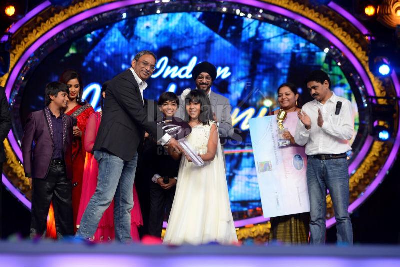Indian Idol Junior Winner with Nissan Micra