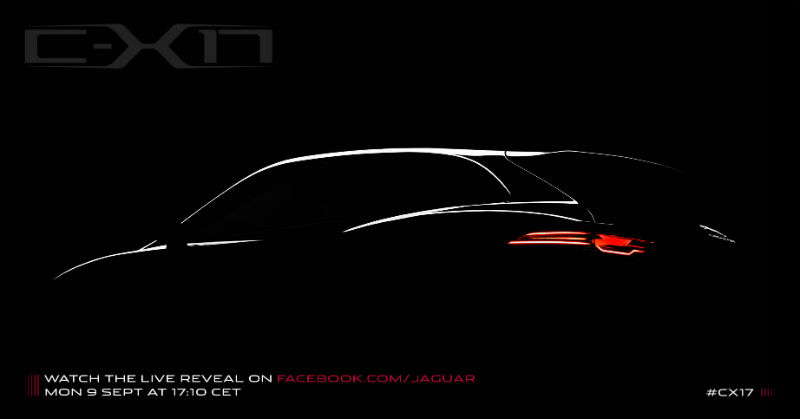 Jaguar C X17 Concept Teased