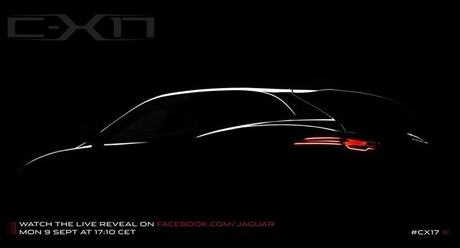 Jaguar C-X17 Concept Teased
