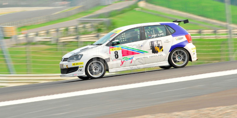 Jeffrey Kruger scores a hatrick at Buddh International Circuit