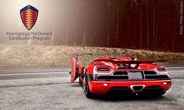 Koenigsegg Pre Owned Certification Program