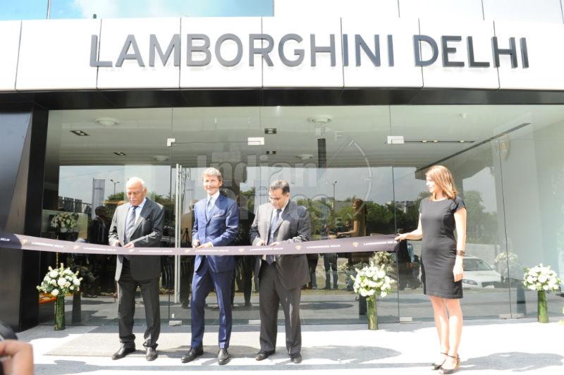 Lamborghini Opens Showroom In New Delhi