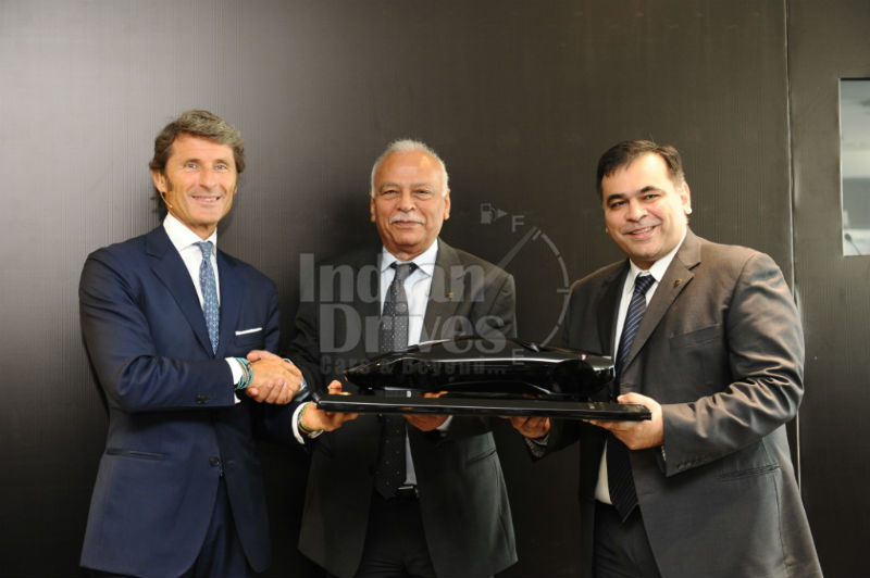 Lamborghini opens its second showroom in India at Delhi