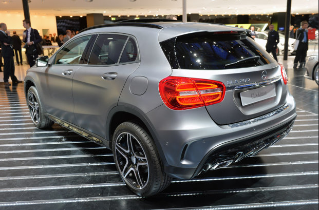 Mercedes-Benz GLA Back View