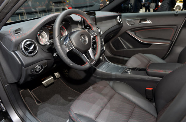 Mercedes-Benz GLA Interiors