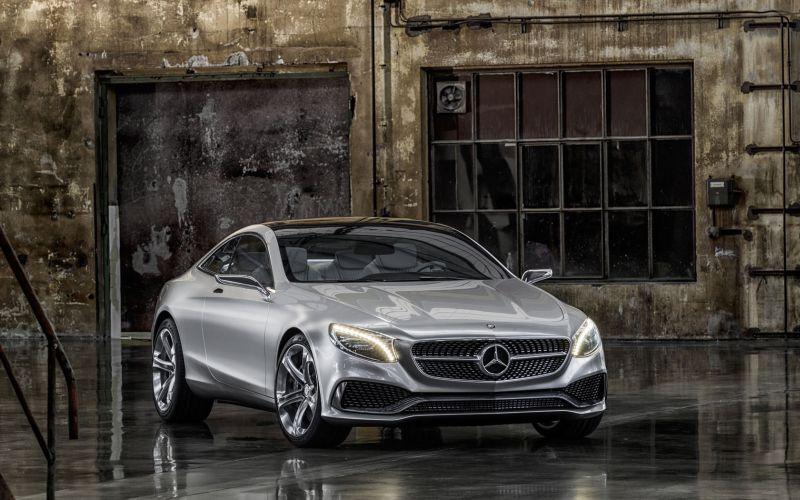 Mercedes Benz S Class Coupe Concept