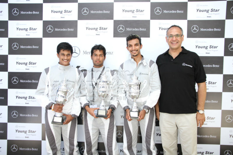 Mercedes Benz gives India its first Young Star Driver