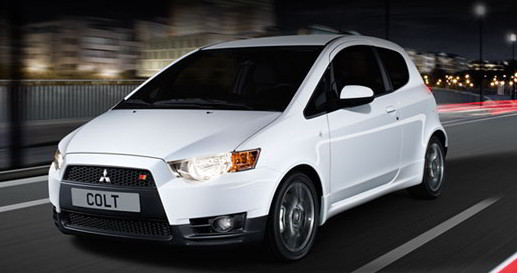 Mitsubishi Colt hatchback