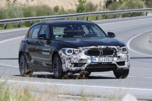 New BMW 1 Series facelift