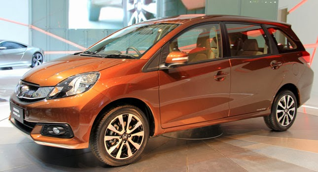 New Honda Brio-based MPV