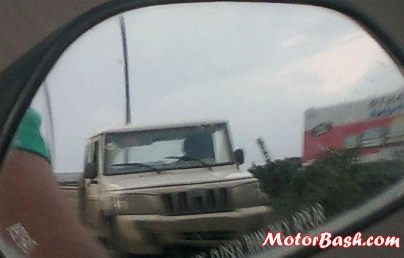 New Mahindra Bolero CNG