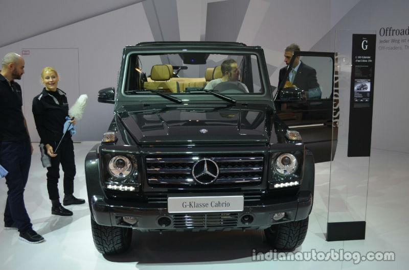 New Mercedes G Class Cabriolet Final Edition