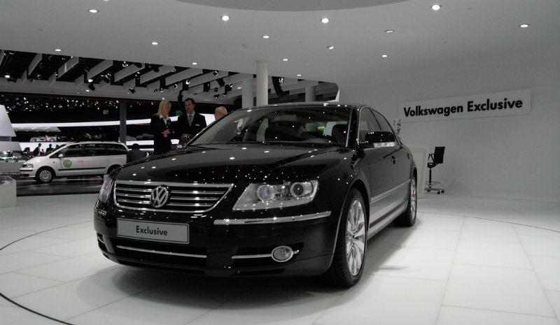 New Volkswagen Phaeton Exclusive
