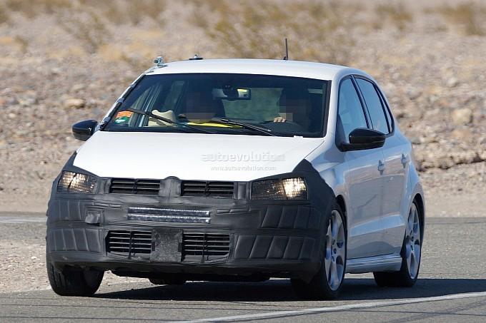 New Volkswagen Polo facelift spy shots