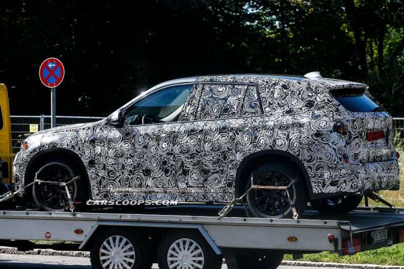 Next Gen BMW X1 Spy Photos