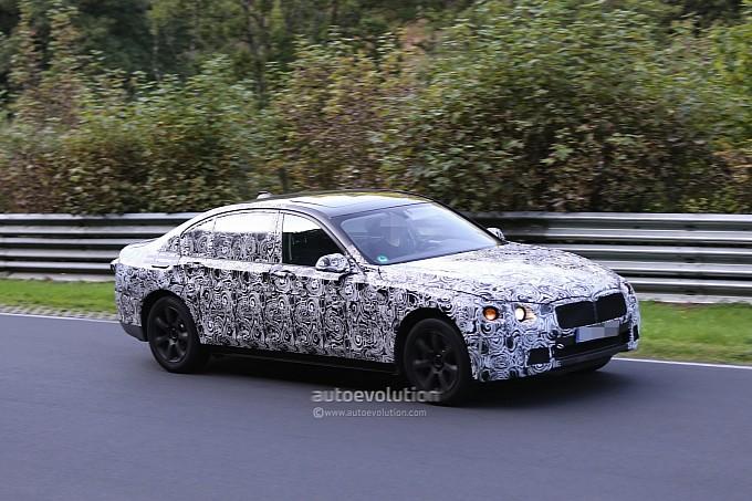 Next-gen BMW 7 Series spy shots 2013