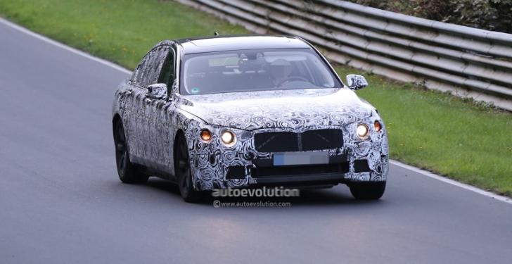 Next-gen BMW 7 Series spy shots