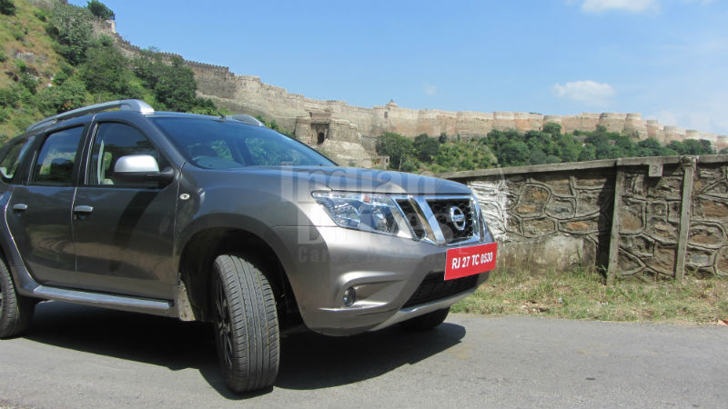 New Nissan Terrano Test Drive