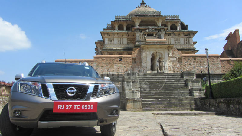 Nissan Terrano in India Test Drive
