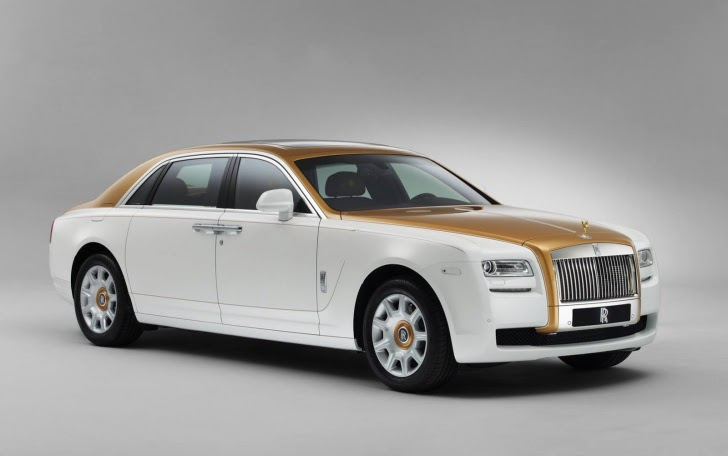 Rolls Royce Golden Sunbird Edition