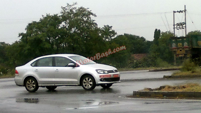 Spy shots of Left Hand Drive Polo and Vento 2013
