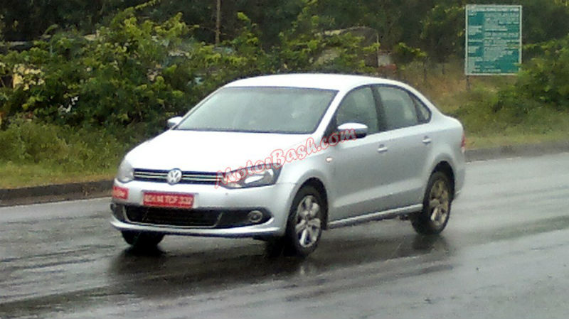 Spy shots of Left Hand Drive Polo and Vento