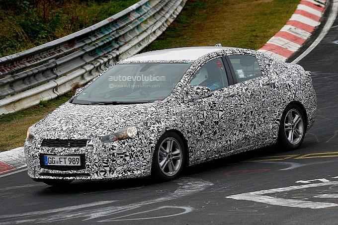 Spyshots 2016 Chevrolet Cruze Sedan Begins Nurburgring
