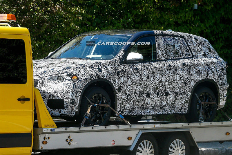 Spyshots Next Generation BMW X1