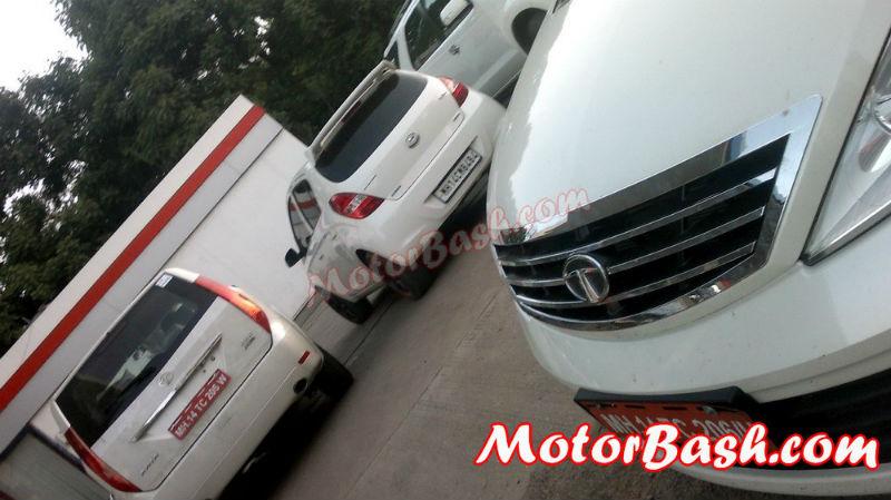Tata Aria Automatic (AT) Pics