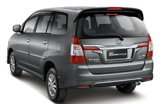Toyota Innova Back View