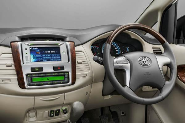 Toyota Innova Interiors