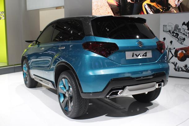 New Suzuki iV-4 concept Back View