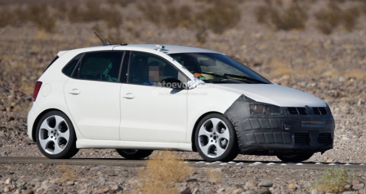 Volkswagen Polo facelift spy shots